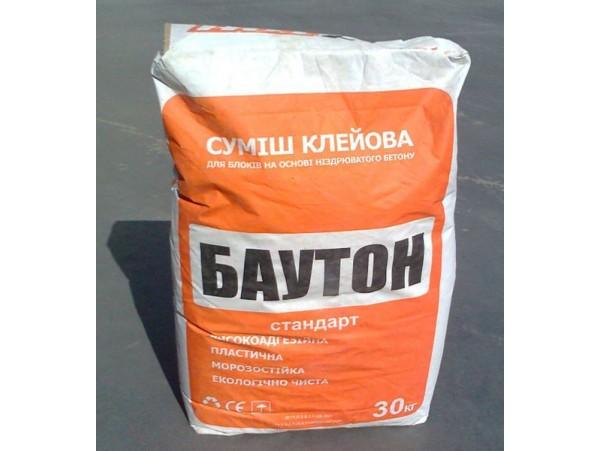 Клей для газобетона БАУТОН лето, 25 кг. (шт.)